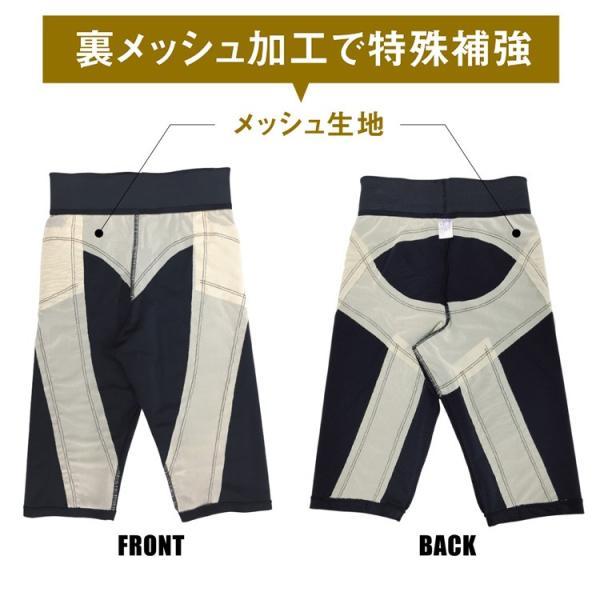 パンツ 加圧スパッツ メンズ 加圧下着 加圧パンツ トレーニングパンツ ハーフパンツ スパルタックス3枚セット|shizenshop|04