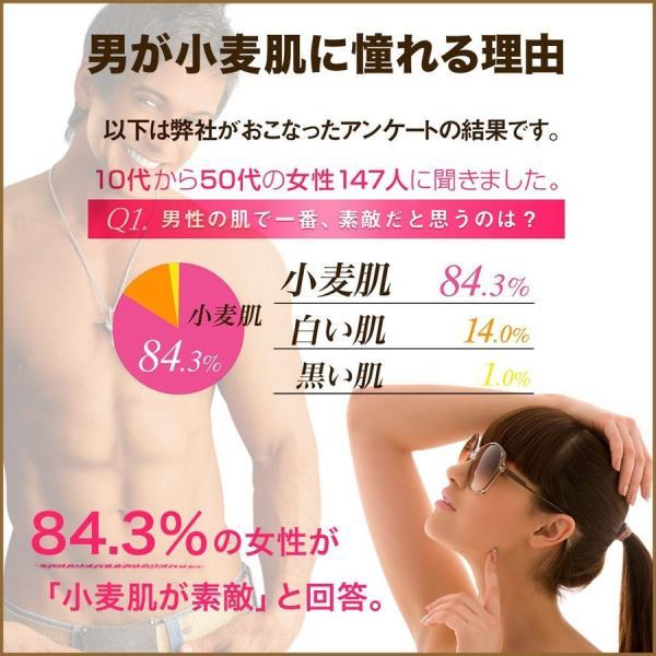 ボディローション セルフタンニング タンニングローション 小麦肌 300ml  日焼け|shizenshop|05