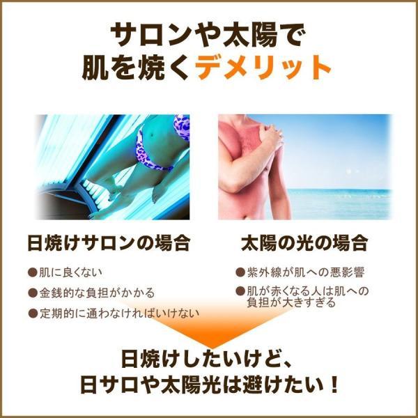 ボディローション セルフタンニング タンニングローション 小麦肌 300ml  日焼け|shizenshop|07