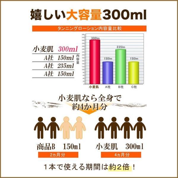 ボディローション セルフタンニング タンニングローション 小麦肌 300ml  日焼け|shizenshop|09