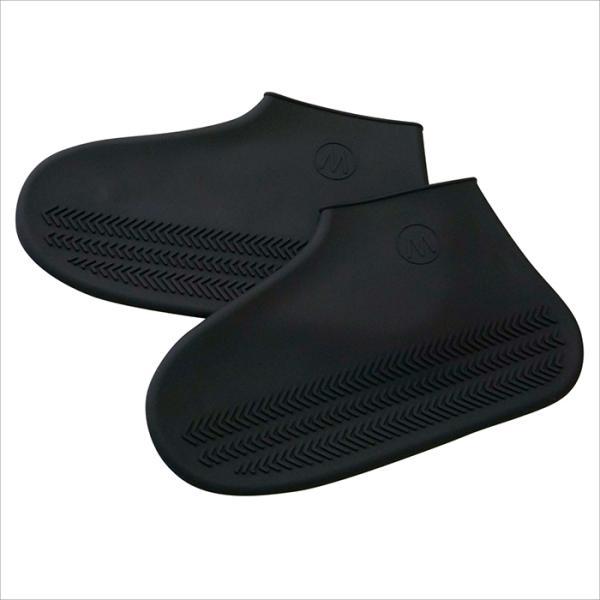 レインシューズカバー レディース メンズ シューズカバー 防水 シリコン  靴用 台風 雨 おしゃれ shizenshop 05