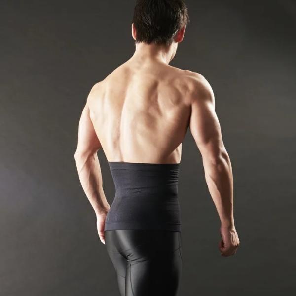 加圧腹巻き ダイエット 腹巻 腹筋 筋トレ トレーニングウェア メンズ 着圧 防寒 姿勢補正 猫背 着圧 スパルタックス|shizenshop|05