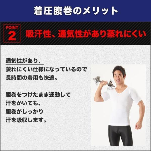 加圧腹巻き ダイエット 腹巻 腹筋 筋トレ トレーニングウェア メンズ 着圧 防寒 姿勢補正 猫背 着圧 スパルタックス|shizenshop|08