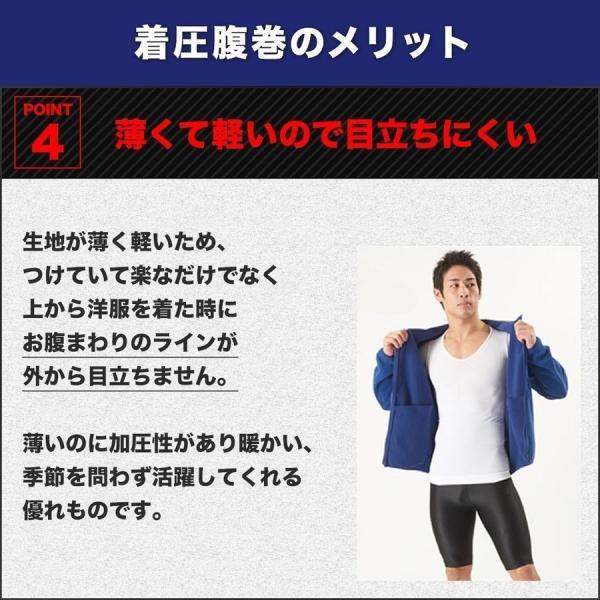 加圧腹巻き ダイエット 腹巻 腹筋 筋トレ トレーニングウェア メンズ 着圧 防寒 姿勢補正 猫背 着圧 スパルタックス|shizenshop|10
