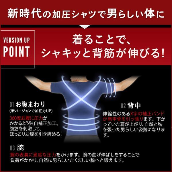 加圧シャツ 半袖 加圧インナー スポーツウェア 姿勢矯正 猫背矯正 加圧下着 スパルタックス ゴルフウェア 商品レビュー4000件突破|shizenshop|14