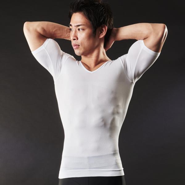 加圧シャツ 半袖 加圧インナー スポーツウェア 姿勢矯正 猫背矯正 加圧下着 コンプレッションウェア スパルタックス 商品レビュー3000件突破|shizenshop|18