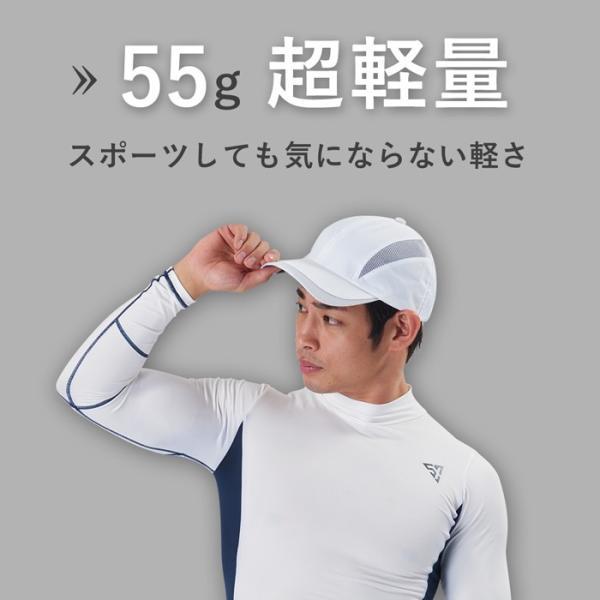 帽子 メンズ 紫外線対策 日焼け対策 熱中症 UV対策 帽子 UVカット スポーツ 折りたたみ メッシュ 暑さ対策 洗える帽子 ワークキャップ カーブキャップ メンズ|shizenshop|04