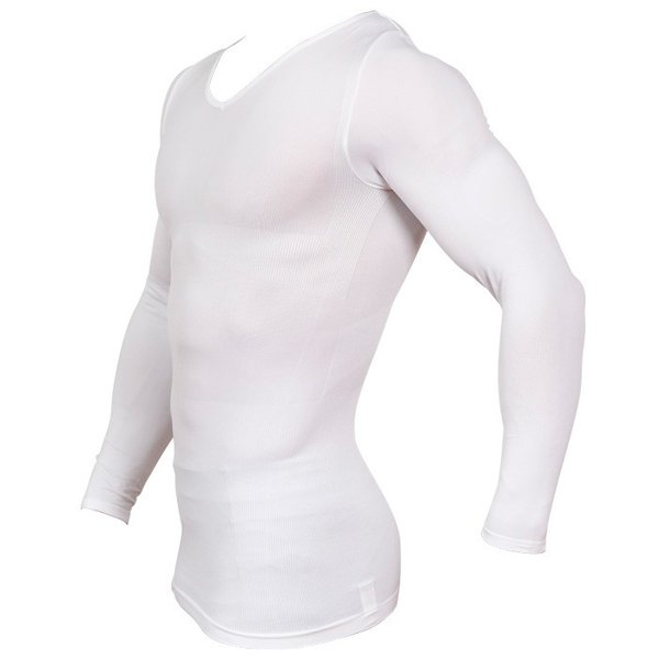 加圧シャツ 加圧インナー 姿勢矯正 着圧 メンズ ロングTシャツ コンプレッションウェア 猫背矯正 防寒インナー メンズ スポーツインナー スパルタックス|shizenshop|03
