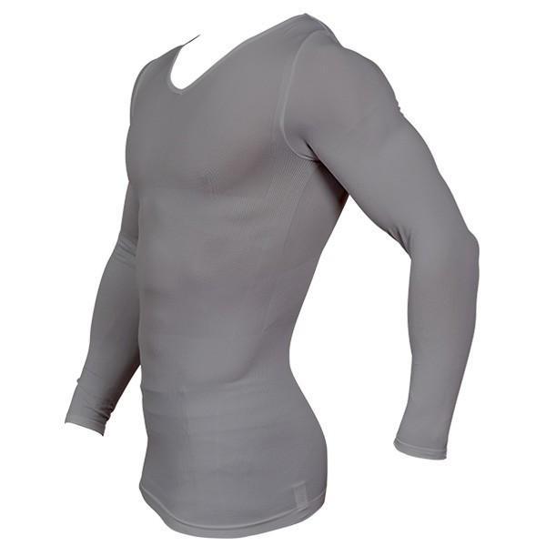 加圧シャツ 加圧インナー 姿勢矯正 着圧 メンズ ロングTシャツ コンプレッションウェア 猫背矯正 防寒インナー メンズ スポーツインナー スパルタックス|shizenshop|04
