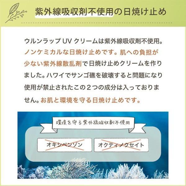 日焼け止めクリーム ノンケミカル 顔 全身 用 紫外線吸収剤不使用 オーガニック原料 母の日 ギフト プレゼント shizenshop 07