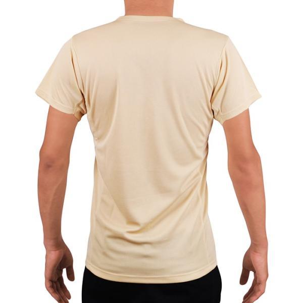汗対策 防臭対策 脇汗インナー Tシャツ 汗を吸収するパッド付き VネックTシャツ 消臭 抗菌防臭 ワキ汗 メンズ 汗じみ 汗取り 脇汗パッド|shizenshop|05