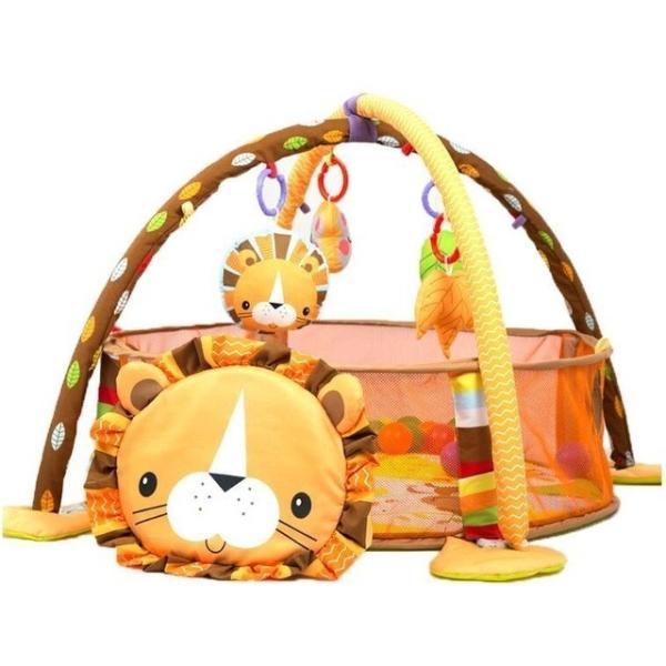 プレイマット 赤ちゃん ベビー おしゃれ 子供 ライオン Play mat|sho-bai