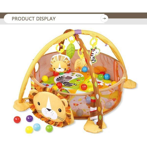 プレイマット 赤ちゃん ベビー おしゃれ 子供 ライオン Play mat|sho-bai|04