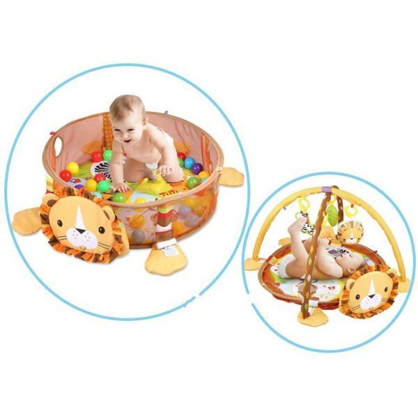 プレイマット 赤ちゃん ベビー おしゃれ 子供 ライオン Play mat|sho-bai|05