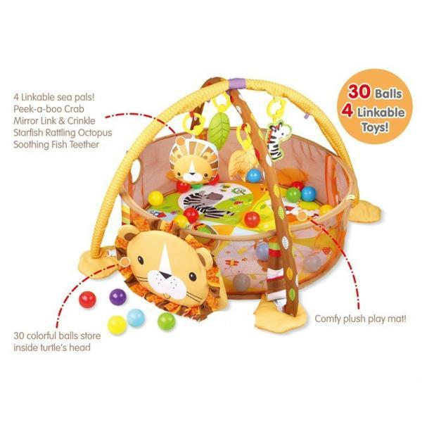 プレイマット 赤ちゃん ベビー おしゃれ 子供 ライオン Play mat|sho-bai|06