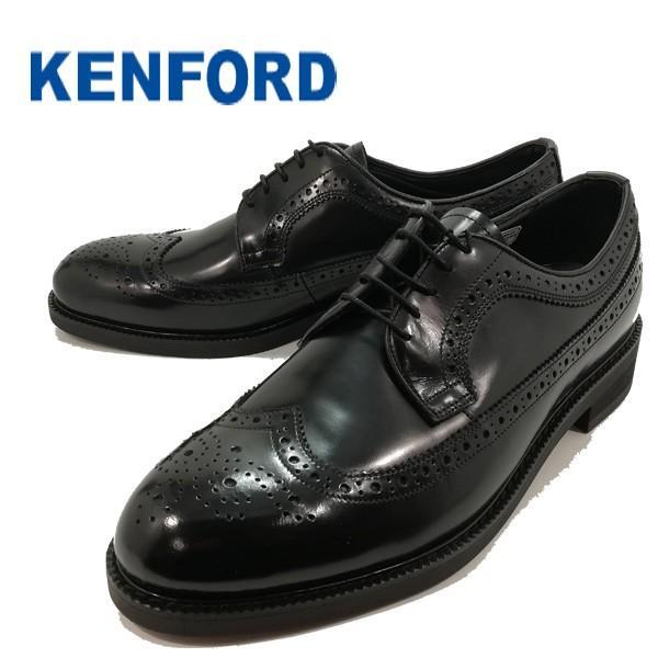 ケンフォード 本革 メンズシューズ ビジネスシューズ ウイングチップ リーガルコーポレーション 靴 正規品 KN35