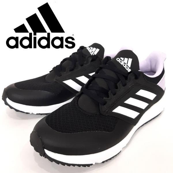 アディダスadidasスニーカーランニング靴コアブラックフットウェアホワイトパープルティントレディースFY7213