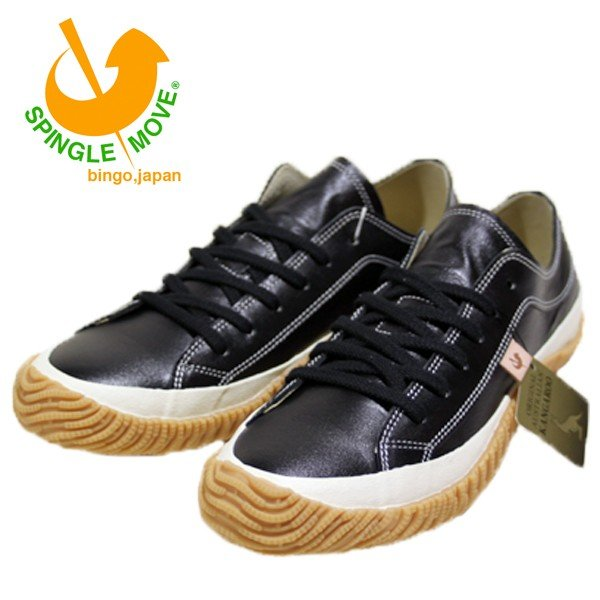 スピングルムーブ SPINGLE MOVE レザー スニーカー 靴 メンズ SPM110-108 shobido