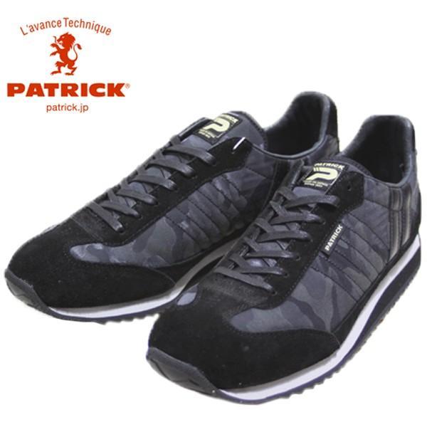 パトリック PATRICK マラソン カモ ジャガード 靴 メンズ 530871-100|shobido