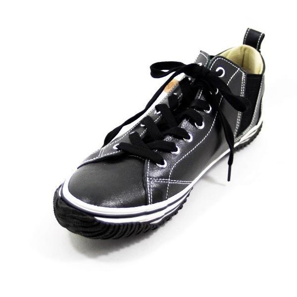 スピングルムーヴ カンガルー レザー スニーカー 靴 メンズ 442-100