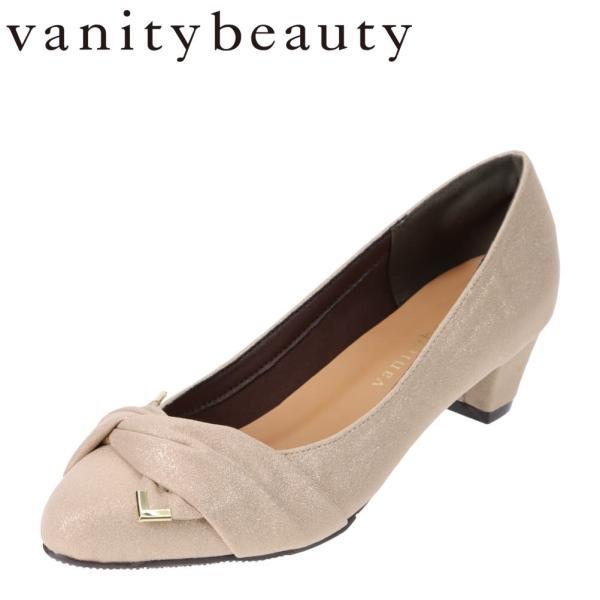 バニティービューティー vanitybeauty VA94375 レディース | パンプス | アーモンドトゥ | ベージュ