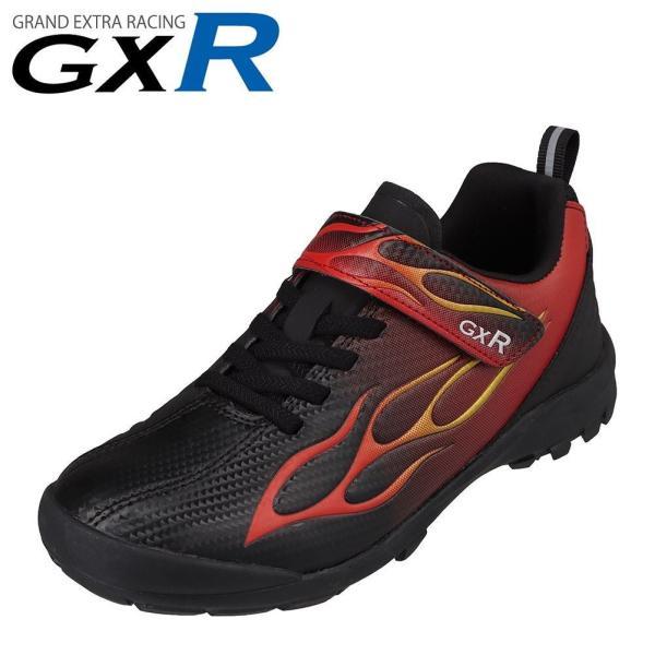 ジーエックスアール GXR GXR-B501 キッズ・ジュニア | スポーツシューズ | 防水 雨の日 | つま先 ガード | ブラック