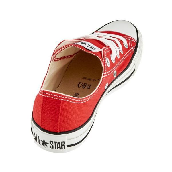 CONVERSE コンバース キャンバスオールスター レディース スニーカー ローカット 赤 レッド CANVAS ALL STAR OX RD