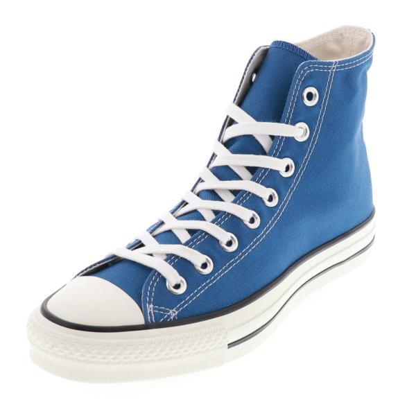コンバースメンズスニーカーハイカットカジュアルシューズキャンバスオールスターJHIニューカラー青ライトネイビー25.5cm〜28