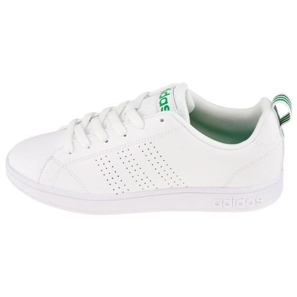 adidas アディダス レディース スニーカー VALCLEAN2 バルクリーン2 F99251 ローカット コートタイプ ホワイト×グリーン 白 VAL CLEAN2 W/G