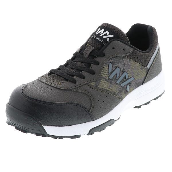 アシックス 商事 作業靴 メンズスニーカー TEXCY WX テクシーワークス プロテクティブスニーカー ユニセックス 紐タイプ 24.5cm〜30.0cm WX-0001 カーキ