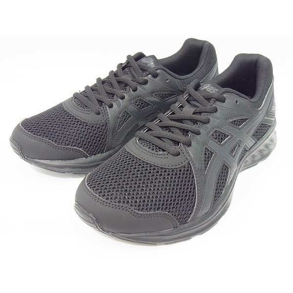 アシックススニーカーメンズASICSJOLT2ジョルト21011A206-003BLK/DGYブラック黒幅広軽量ジムスポーツ靴ジ