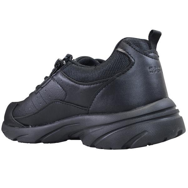 KB.STYLE K-2125BK メンズ スニーカー ブラック 3E 幅広 ファスナー付き 軽量 作業靴 ヒモ靴 shoeparkkaminari 03