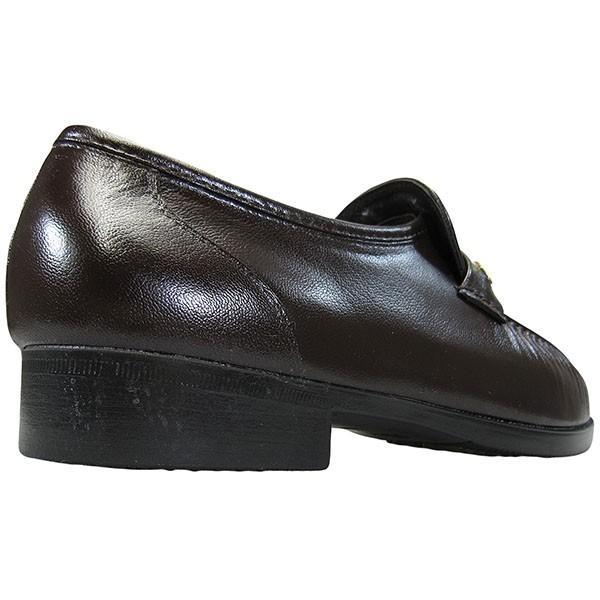 お多福 GR110 ブラウン 濃茶 4E メンズ 磁気シューズ ビジネスシューズ 紳士靴 OTAFUKU shoeparkkaminari 04