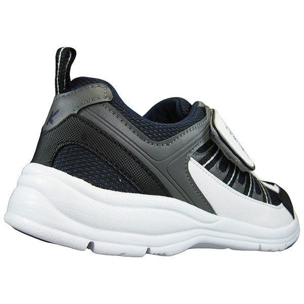 メンズ スポーツシューズ KB.STYLE 1954 白/ネイビー 3E ジョギング ランニング シューズ 幅広 軽量 お買い得 作業靴 shoeparkkaminari 04