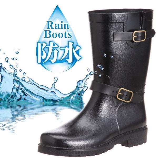 【送料無料】メンズ レインブーツ 2600 長靴 レインシューズ エンジニアブーツ 防水 抗菌 消臭 防滑 靴 Y_KO|shoes-garage