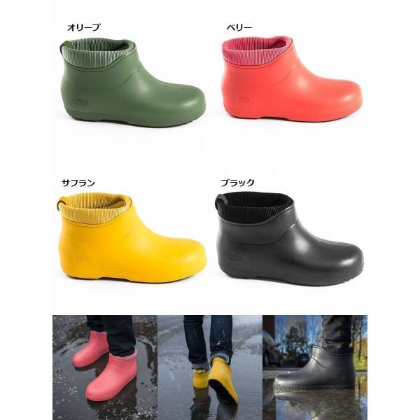 レインブーツスノーブーツ  滑らない靴 長靴 防滑 防寒 防水 レディース メンズ ショート【UNI】|shoes-garage|03