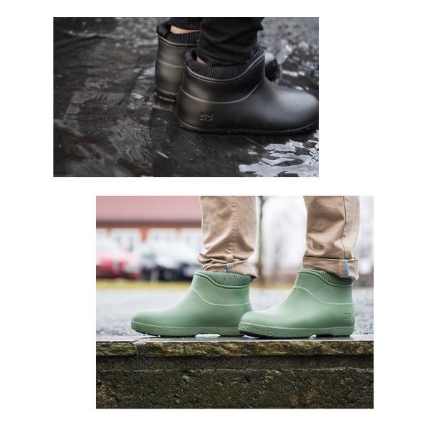 レインブーツスノーブーツ  滑らない靴 長靴 防滑 防寒 防水 レディース メンズ ショート【UNI】|shoes-garage|04