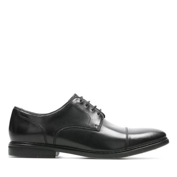 クラークス Clarks ビジネス メンズ Banbury Walk 26144773 ブラック 革靴 本革 レザー 牛革 靴 シューズ