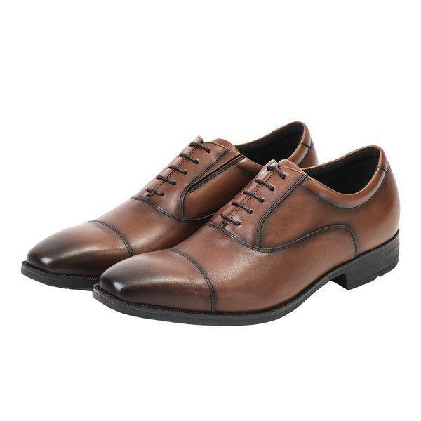 texcyluxeテクシーリュクスTU-7010TU7010ブラウン24.5〜28cm革靴ビジネスシューズメンズ幅広軽量紳士靴ア