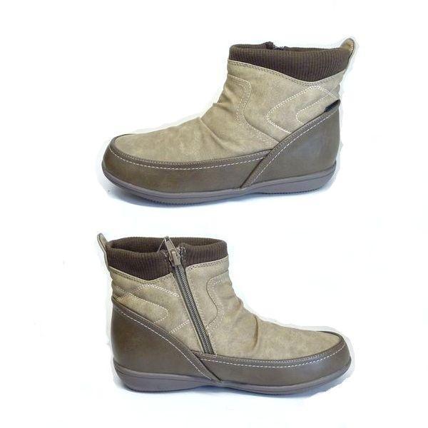 エルスポーツ 靴 レディース ELLE SPORT ESP11006 撥水 防滑 カジュアル レディース ショートブーツ