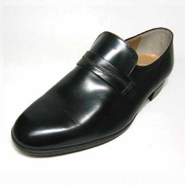 マレリー Marelli 1687 ブラック 24.5cm 4E EEEE プレーントゥ メンズ・ビジネスシューズ|shoes-maro