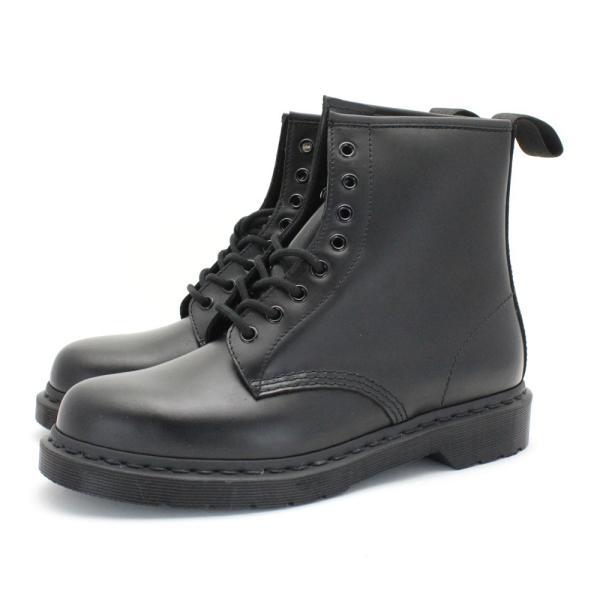 [ドクターマーチン]メンズ/ユニセックス 1460 / 8ホール ブーツ (ブラック/モノ) [Dr.Martens] mens 1460 / 8-EYE BOOT(BLK-MONO)  レディースサイズ有り|shoes-select