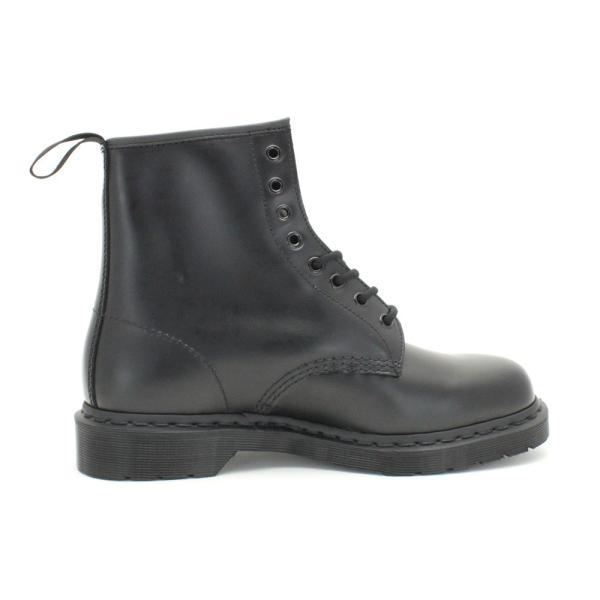 [ドクターマーチン]メンズ/ユニセックス 1460 / 8ホール ブーツ (ブラック/モノ) [Dr.Martens] mens 1460 / 8-EYE BOOT(BLK-MONO)  レディースサイズ有り|shoes-select|03
