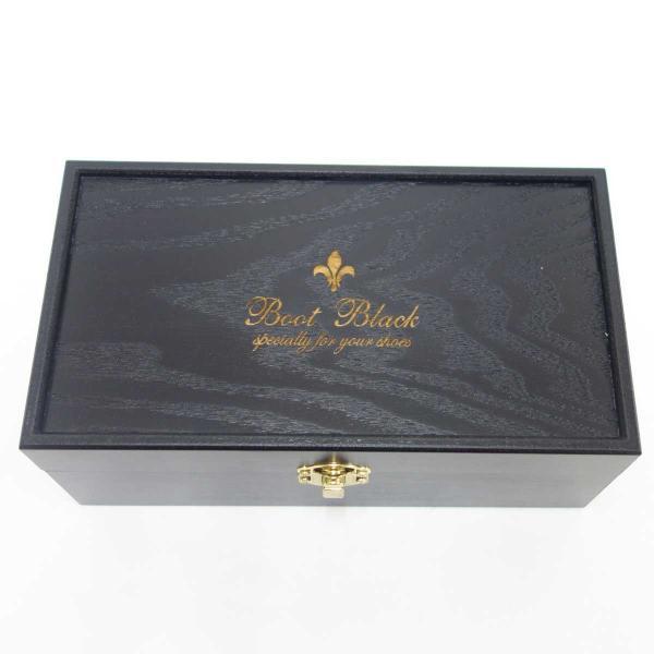 ブートブラック Boot Black  シューケアBOX  スプモーニ(木箱のみ)(日本製)