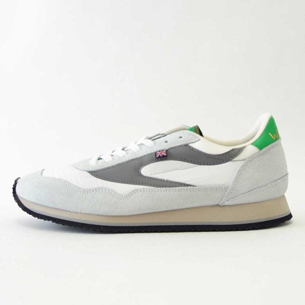 WALSH ウォルシュ ENC71005(ユニセックス) Ensign Classic カラー:ホワイト/グレー/グリーン(英国製)  スエード&ナイロンのランニングスニーカー|shoes-sinagawa|05