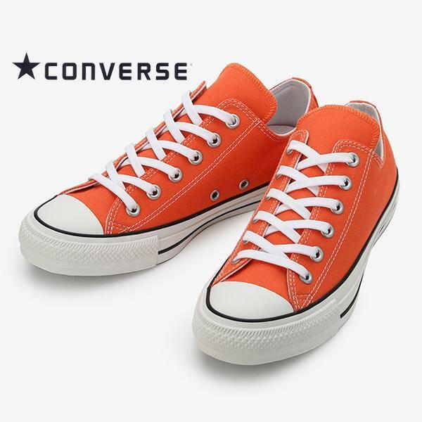 aaaedfad9d8e コンバース メンズ レディース スニーカー オールスター100カラーズ ロー オレンジ converse allstar 100 colors ox  100周年 ...