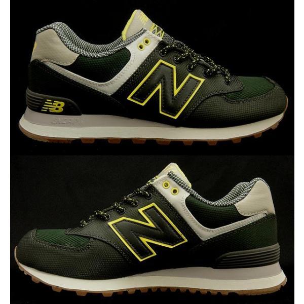 【セール】【返品不可】【送料無料】【クラシック】 ニューバランス レディースメンズスニーカー ML574 DARK GREEN newbalance ML574EXB shoes-sneakerkawa 02
