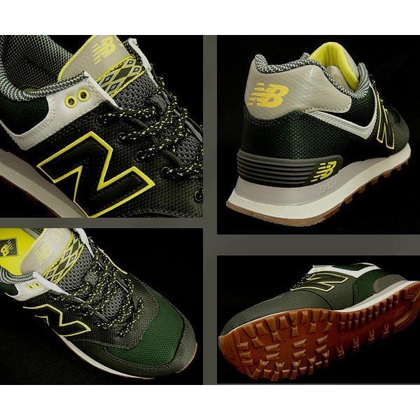【セール】【返品不可】【送料無料】【クラシック】 ニューバランス レディースメンズスニーカー ML574 DARK GREEN newbalance ML574EXB shoes-sneakerkawa 03