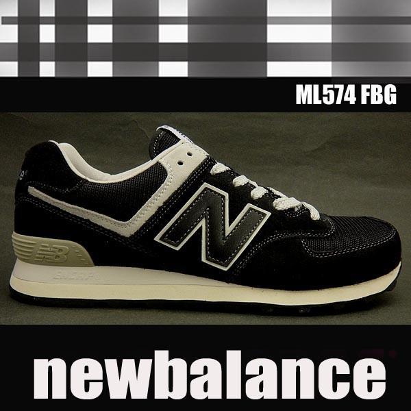 48e8a58fcd4eab 【クラシック】 ニューバランス メンズレディーススニーカー ML574 BLACK newbalance  ML574FBG|shoes-sneakerkawa ...