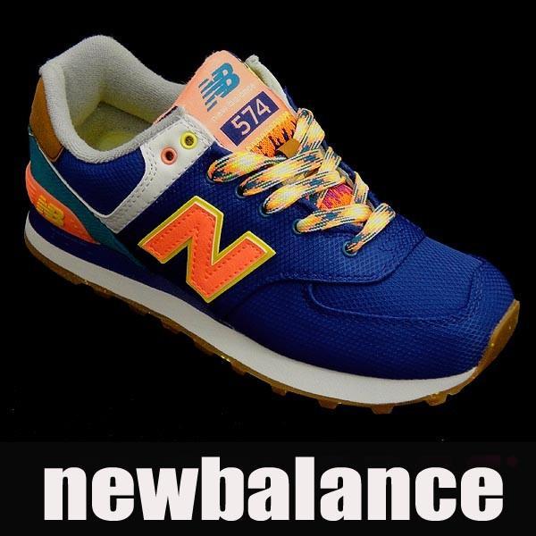 【セール】【返品不可】ニューバランス レディーススニーカー WL574 ネイビー/ピンク newbalance wl574exa|shoes-sneakerkawa